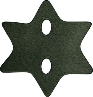 """Shirt Protector, 6 Pt (6013) 3"""" X 3-1/4""""-Boston Leather"""