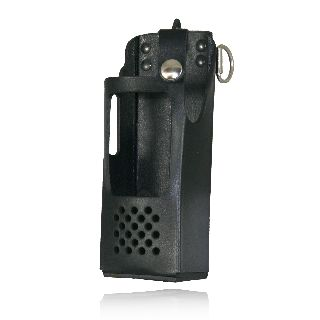 Radio Holder For Ef Johnson 5100es-Boston Leather