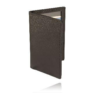 Id Case, 2 Windows (Large)-Boston Leather