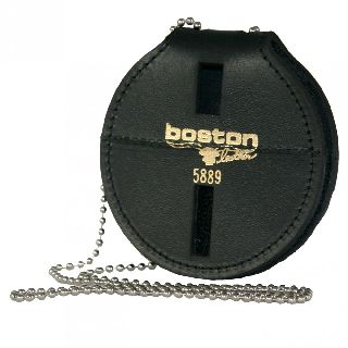 Deluxe 5889 With Clip, Chain And Pouch-Boston Leather