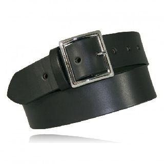 "1 3/4"" Garrison Belt w/ Elastic-Boston Leather"