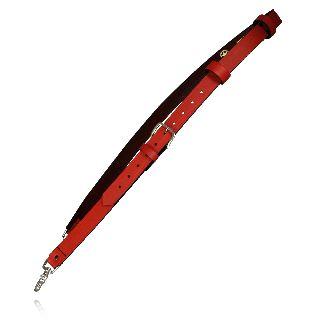 "Fireman""S Radio Strap (Red Leather)-"