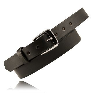 "1 1/4"" Off Duty Belt, No Lines-Boston Leather"