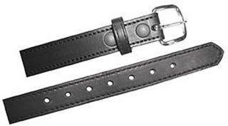 "1 1/4"" Off Duty Belt, Stitched Edge-Boston Leather"