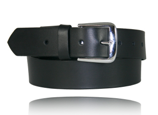 "1 1/2"" Off Duty Belt w/ Elastic-Boston Leather"
