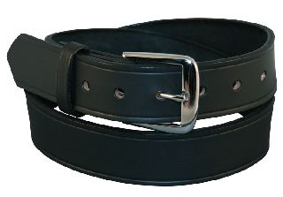 "1 1/2"" Off Duty Belt, Fully Lined-Boston Leather"