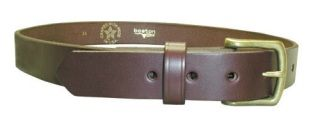 "1 1/2"" Off Duty Belt, No Lines-Boston Leather"