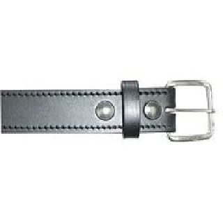 "1 1/2"" Off Duty Belt, Stitched Edge-Boston Leather"