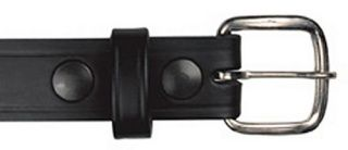 "#6580, 1 1/4"" Off Duty Buckle-Boston Leather"