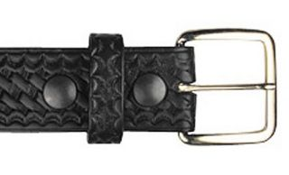"#6582, 1 1/2"" Off Duty Buckle-Boston Leather"