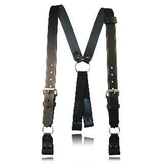 """Fireman""""S Suspenders (Loop) w/ Abs Rectangular Ring To Loop-"""