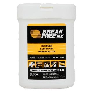 CLP Treated Multi Surface wipes (20sheets 6 3/4x3)