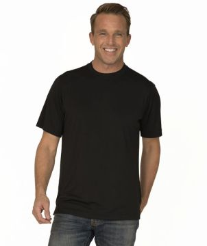 Mens Solid T-Shirt Interlock-