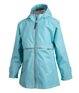 Girls' New Englander Rain Jacket-Charles River Apparel