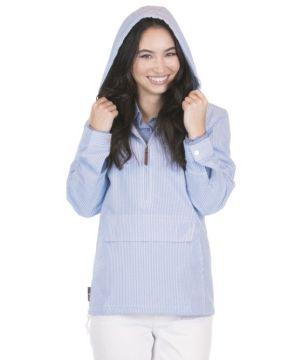 Womens Seersucker Pullover-