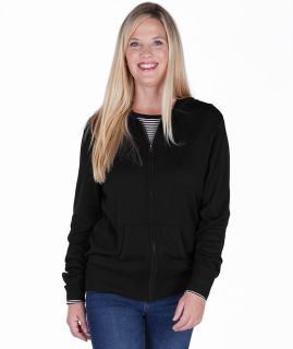Womens Mystic Sweater Hoodie-Charles River Apparel