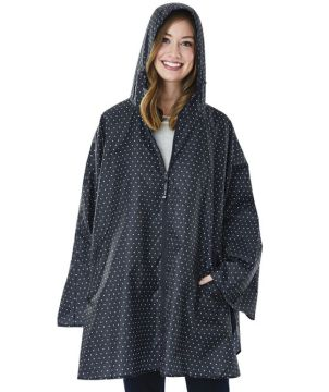 Womens Pack N Go Poncho-Charles River Apparel