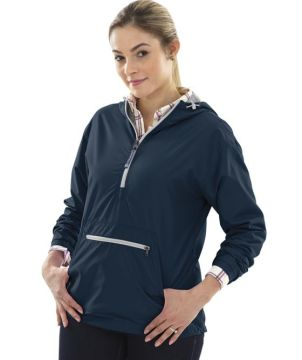 Womens Chatham Anorak Solid-Charles River Apparel
