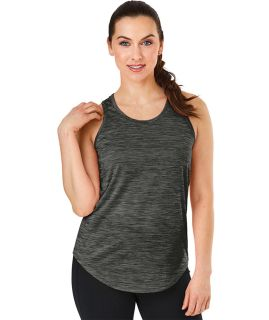 Womens Space Dye Fitness Tank-Charles River Apparel