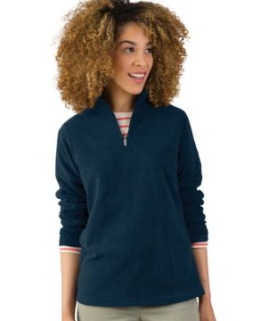 Womens Freeportmicrofleece Pullover-Charles River Apparel