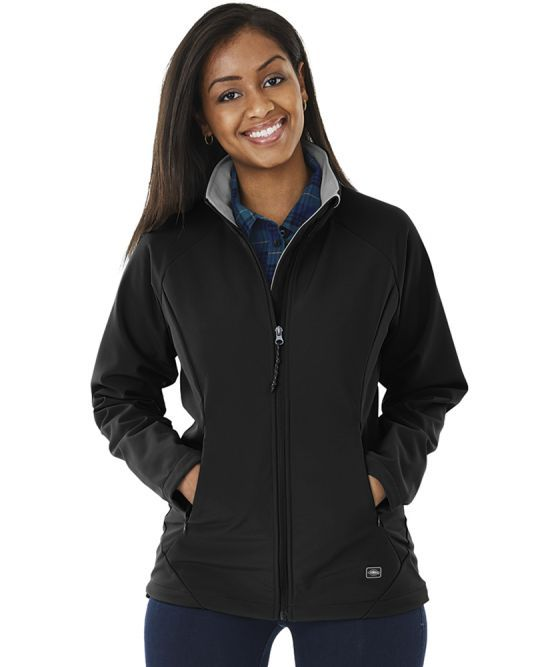 Womens Ultima Soft Shell Jacket-Charles River Apparel