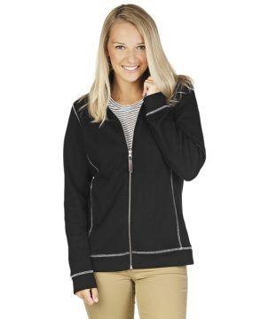 Womens Conway Flatback Rib Jacket-Charles River Apparel