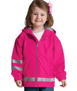 Toddler New Englander Rain Jacket-Charles River Apparel