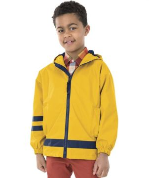 Childrens New Englander Rain Jacket-Charles River Apparel
