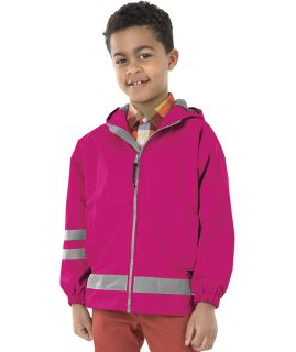 Children's New Englander Rain Jacket-Charles River Apparel