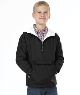 Youth Classic Solid Pullover-Charles River Apparel