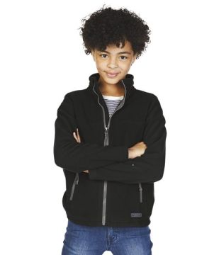 Youth Boundary Fleece Jacket-Charles River Apparel