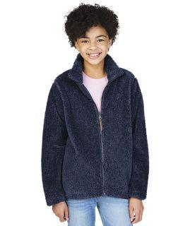 Youth Newport Fleece Jacket-Charles River Apparel