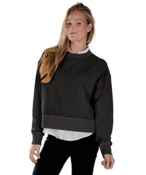 Camden Crew Crop Sweatshirt-Charles River Apparel