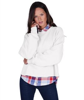 Clifton Distressed Boxy Sweatshirt-Charles River Apparel