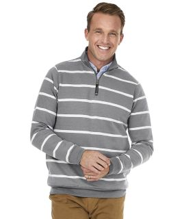 Crosswind Quarter Zip Print Sweatshirt-Charles River Apparel