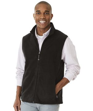 Ridgeline Fleece Vest-Charles River Apparel