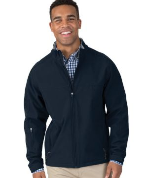 Mens Soft Shell Jacket-Charles River Apparel