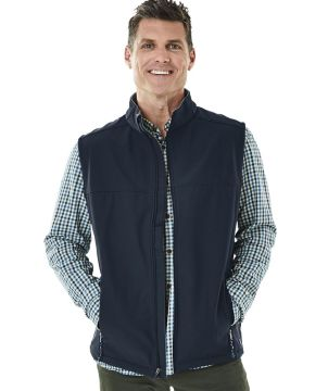 Mens Soft Shell Vest-Charles River Apparel