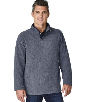 Mens Bayview Fleece Pullover-