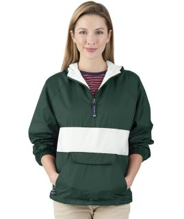 Classic Charles River Striped Pullover-Charles River Apparel
