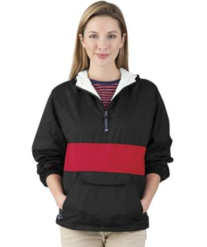 Classic Striped Pullover-