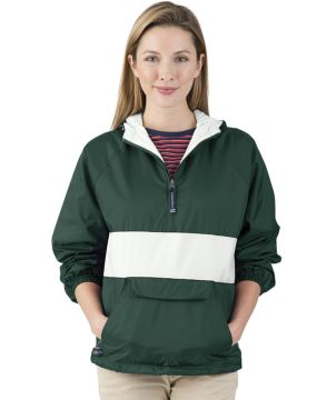 Classic Charles Riverstriped Pullover-Charles River Apparel