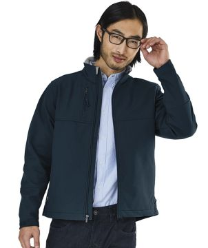 Mens Ultima Soft Shelljacket-Charles River Apparel