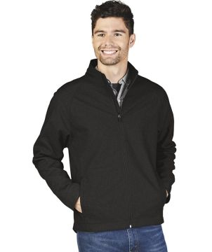 Mens Back Bay Soft Shelljkt-Charles River Apparel
