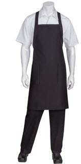 Cross-Back Bib Apron-CW