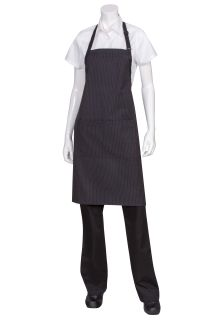 Butcher Apron With Contrasting Ties-