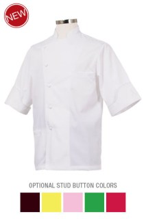 Alain Roby Executive Chef Coat-Chef Works