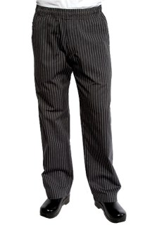 Gray Pinstripe UltraLux Better Built Baggy-CW