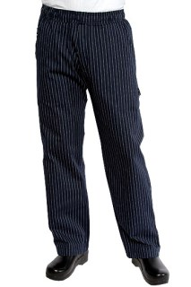 Navy Pinstripe UltraLux Better Built Baggy-CW