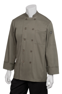 Perugia Olive Basic Chef Coat